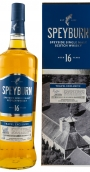 Speyburn 16 Years Single Malt Scotch Whisky 1 liter