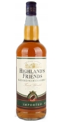 Highlands Friends Blended Scotch Whisky 40% 1.0l