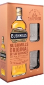 Bushmills Original Irish Whiskey + 2 glasses 1 liter